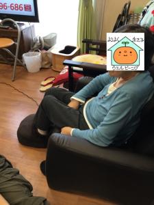 山田さん足つぼ1